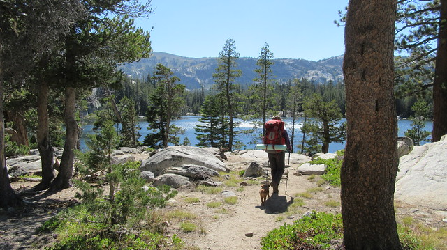 Backpacking to Dardanelles Lake