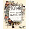 So pleased with the graphic for this fall's #GoWestCraftFest, September 19 at @woodlandsphila! See you there? #shoplocal #westphilly #handmade #madeinphiladelphia #craftfair #cemetery