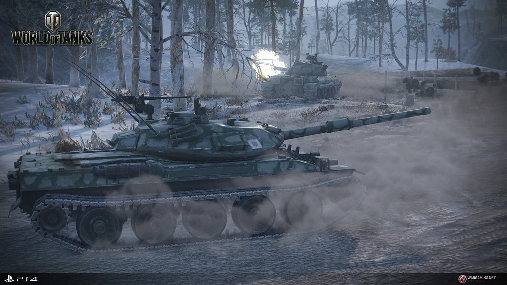 World of Tanks will be released on PS4