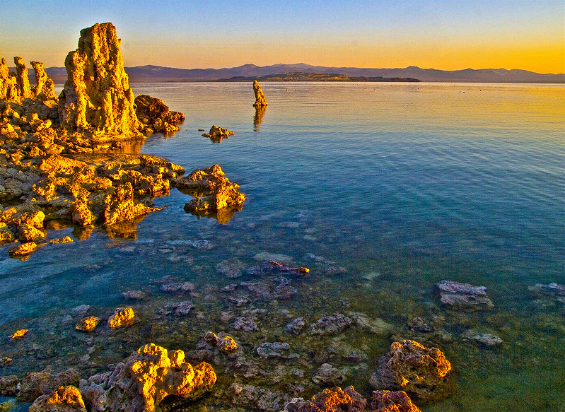 tufa sunrise