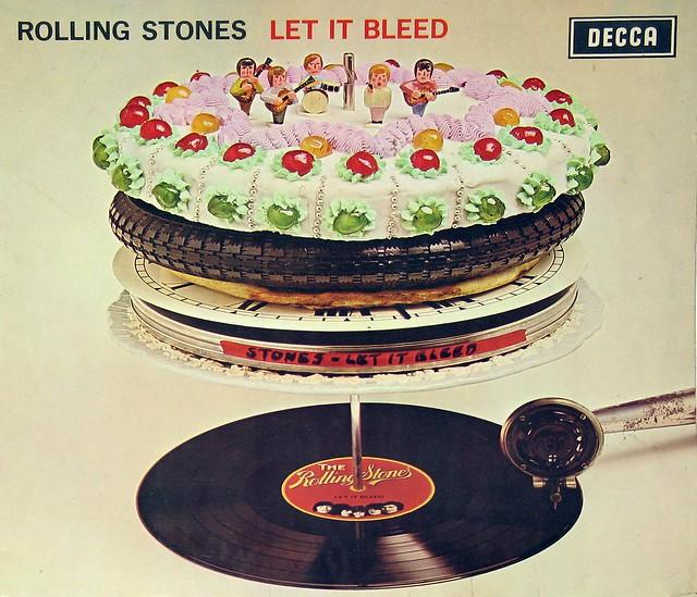 """Rolling Stones Let it Bleed 12"""" Vinyl LP"""