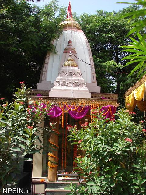 Shri Ram Family in Shri Radha Krishna Mandir