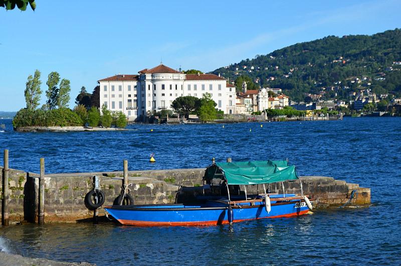 Isola Bella from Isola dei Pescatori, Lake Maggiore, Italy