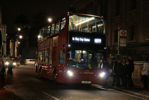 Longest Night Route in London