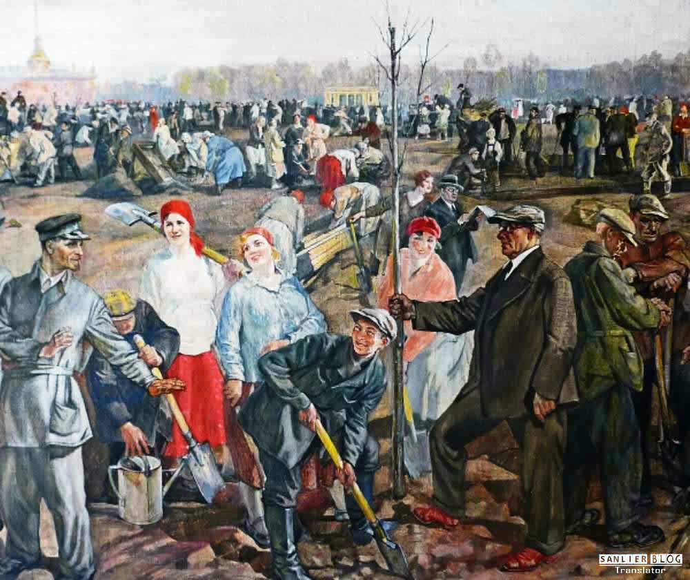 苏联20、30年代各类宣传画23