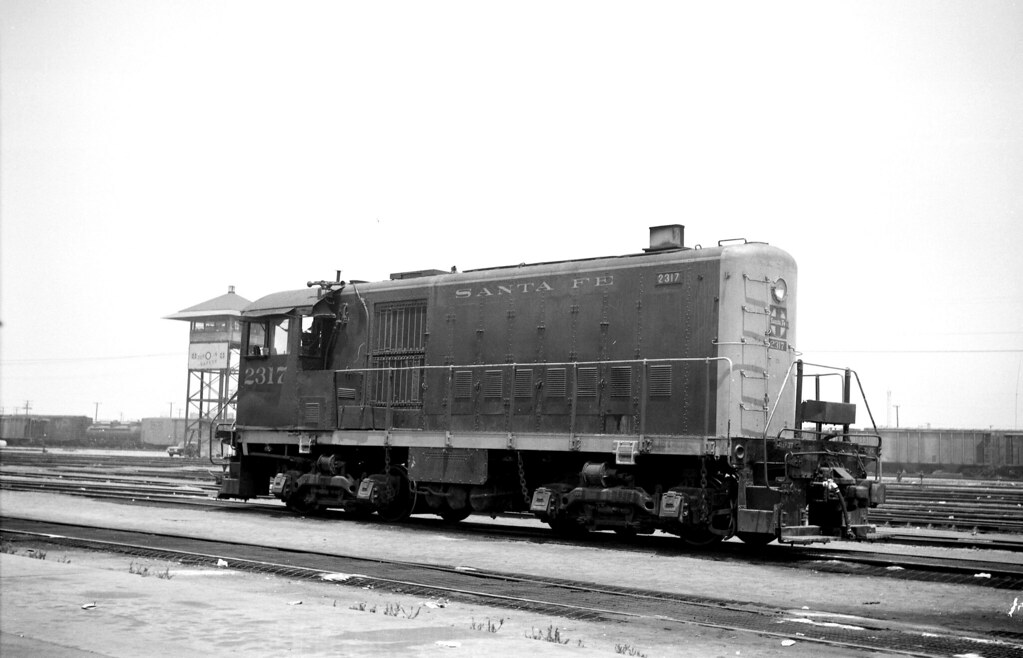 Santa Fe 2317 at Los Angeles