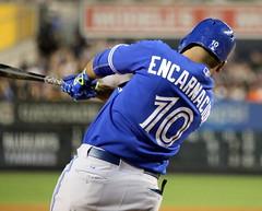Edwin Encarnacion homers vs. Yankees: 9/11/2015