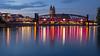 Hubbrücke MD zur blauen Stunde by uwe.winter