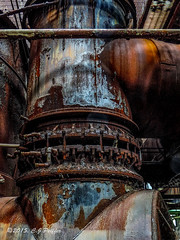 Carrie Furnace, Pittsburgh closed iron works