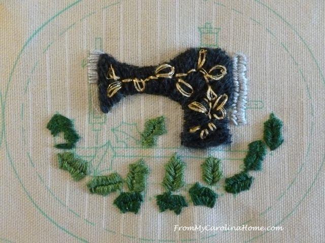 Ornament Stitching 4