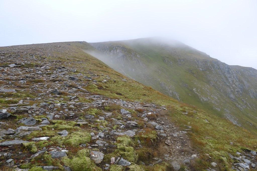 The ridge to Sgurr nan Conbhairean
