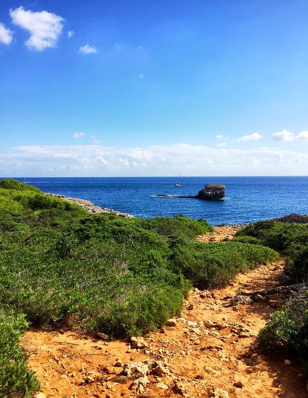 Wanderweg in Portocolom (Mallorca)