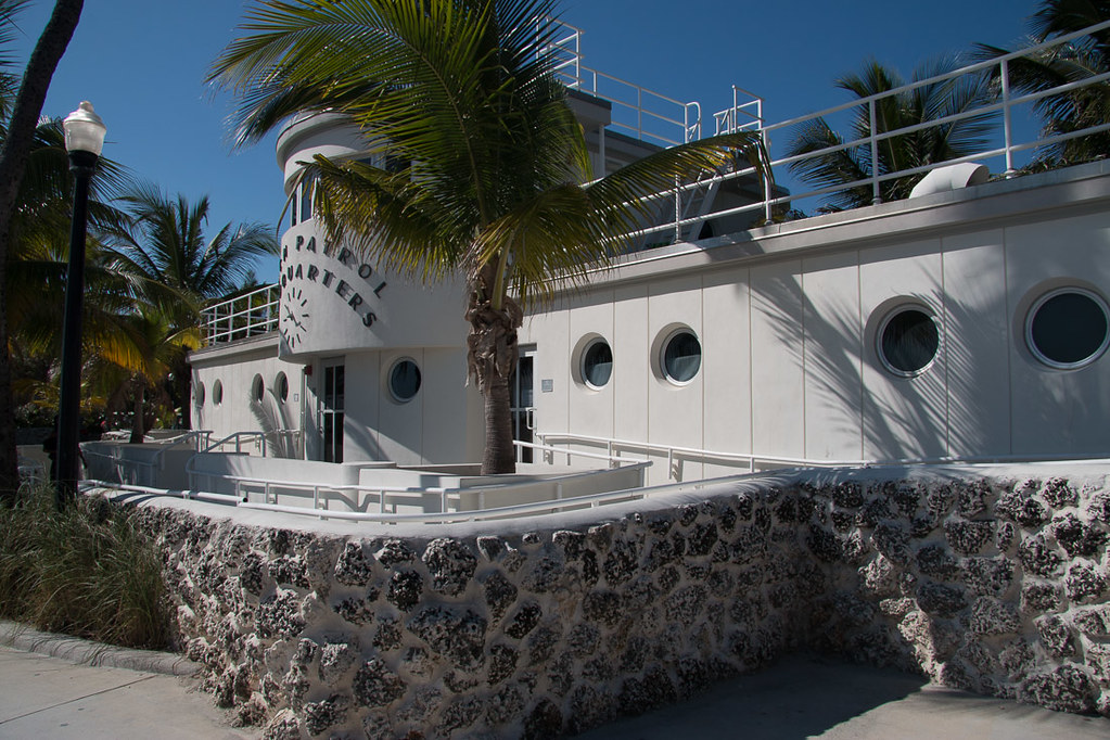 Beach Patrol Headquarters Building