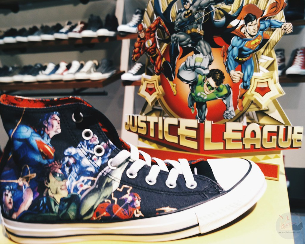 limited edition converse justice league