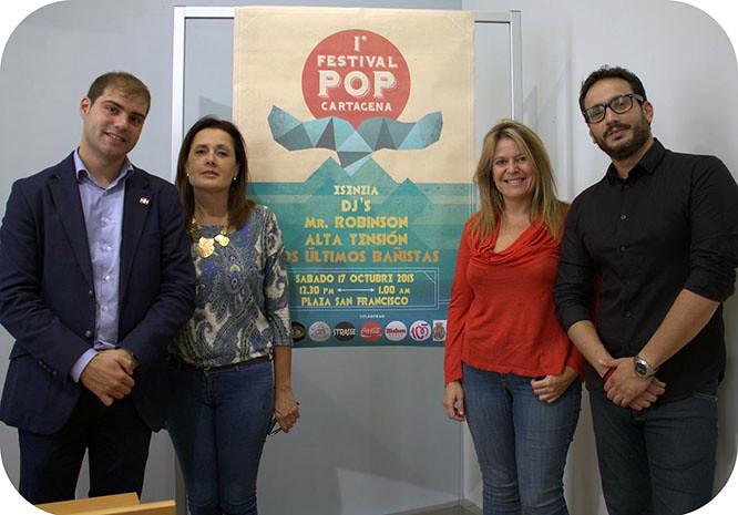 El Festival Otoño Pop dará ambiente a la plaza San Francisco
