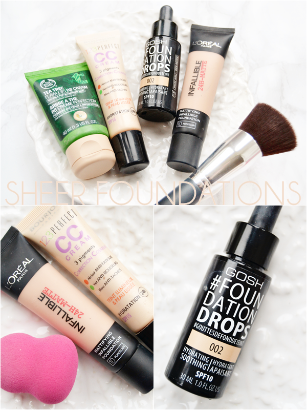 Sheer-foundations-drugstore-budget
