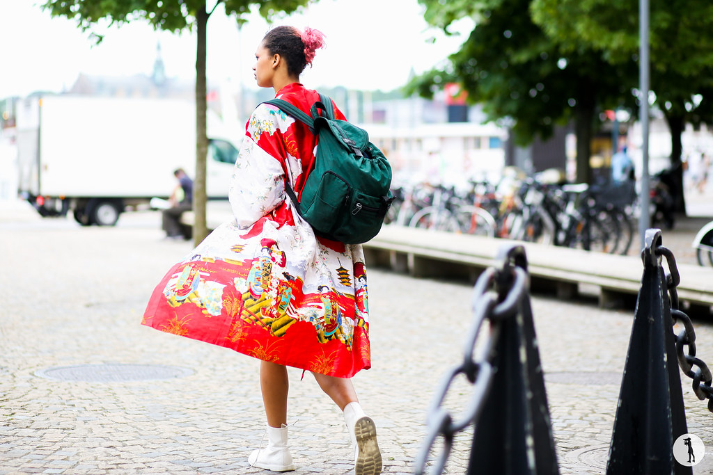 Street style at Stockholm Fashion Week