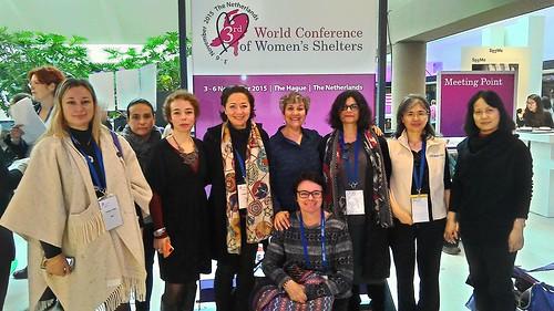 Congresso mondiale Centri antiviolenza, Aia, 4-6 novembre 2015