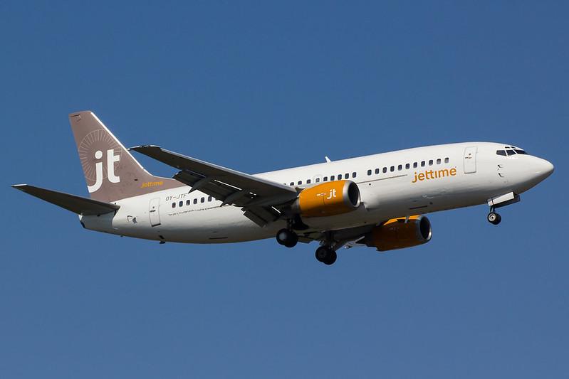 Jettime - B733 - OY-JTF (1)