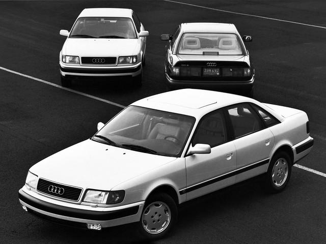 Седан Audi 100 C4 для рынка США. 1990 – 1994 годы