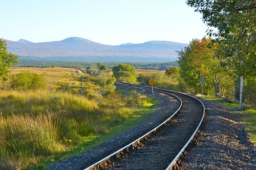 Rannoch Station views