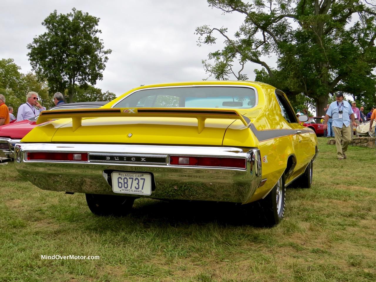1970 Buick GSX Rear