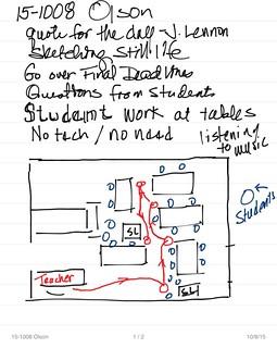 Teacher Observation P1