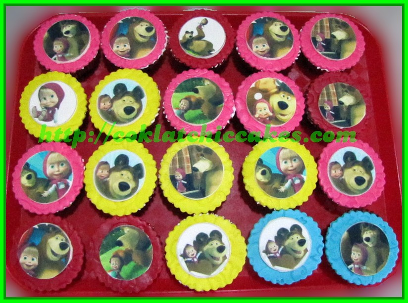 Cupcake Masha and the Bear