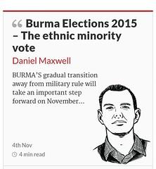 Myanmar Elections 2015