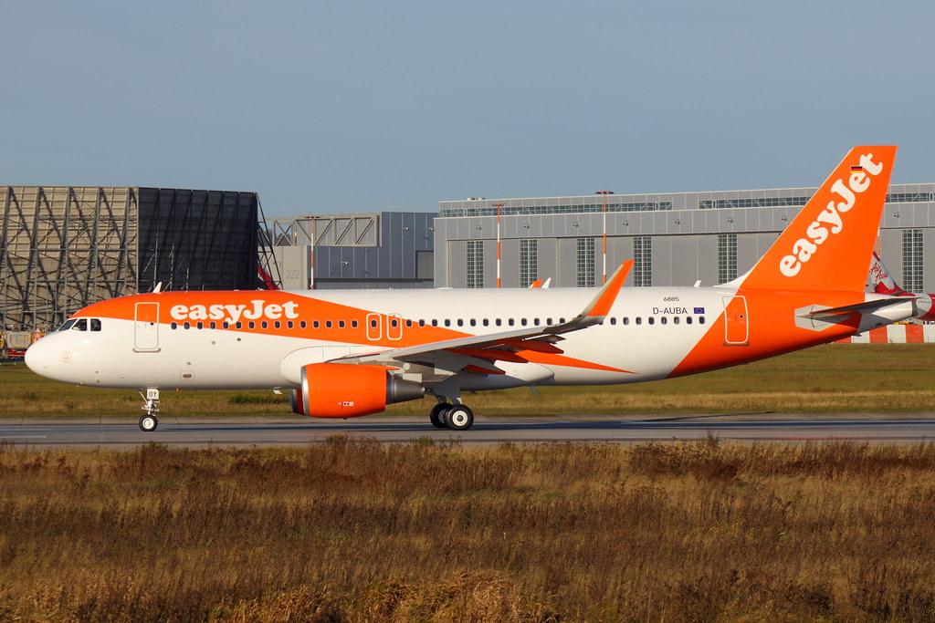 G-EZOY - A320 - EasyJet