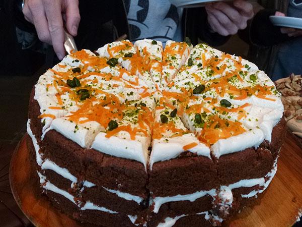 carrot cake IWM