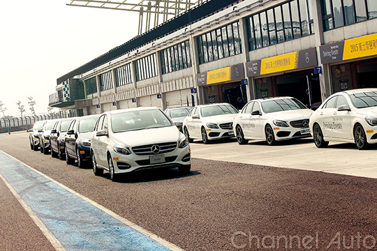 Mercedes-Benz Driving Events 賓士智慧駕馭體驗營-16