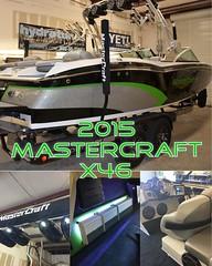 2015 Mastercraft X46 Hydrotuned. #hydrotunes #wakeboat #wakeboatporn #wbp #jlaudio #mastercraft #boattown