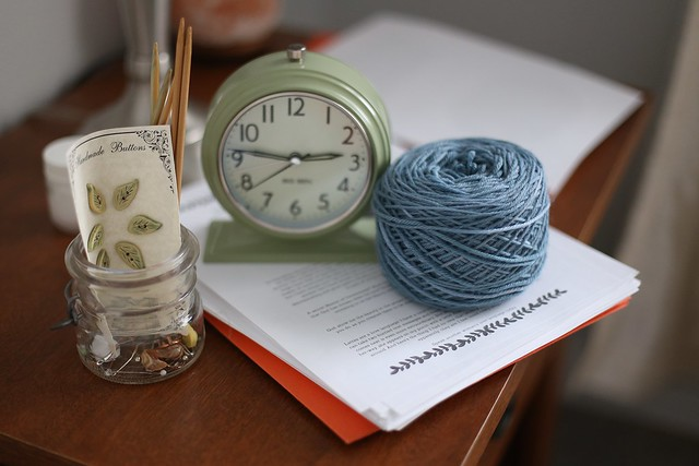cozy crafting and reading