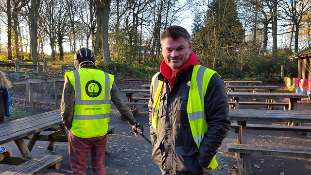 Volunteers at wyreforest parkrun