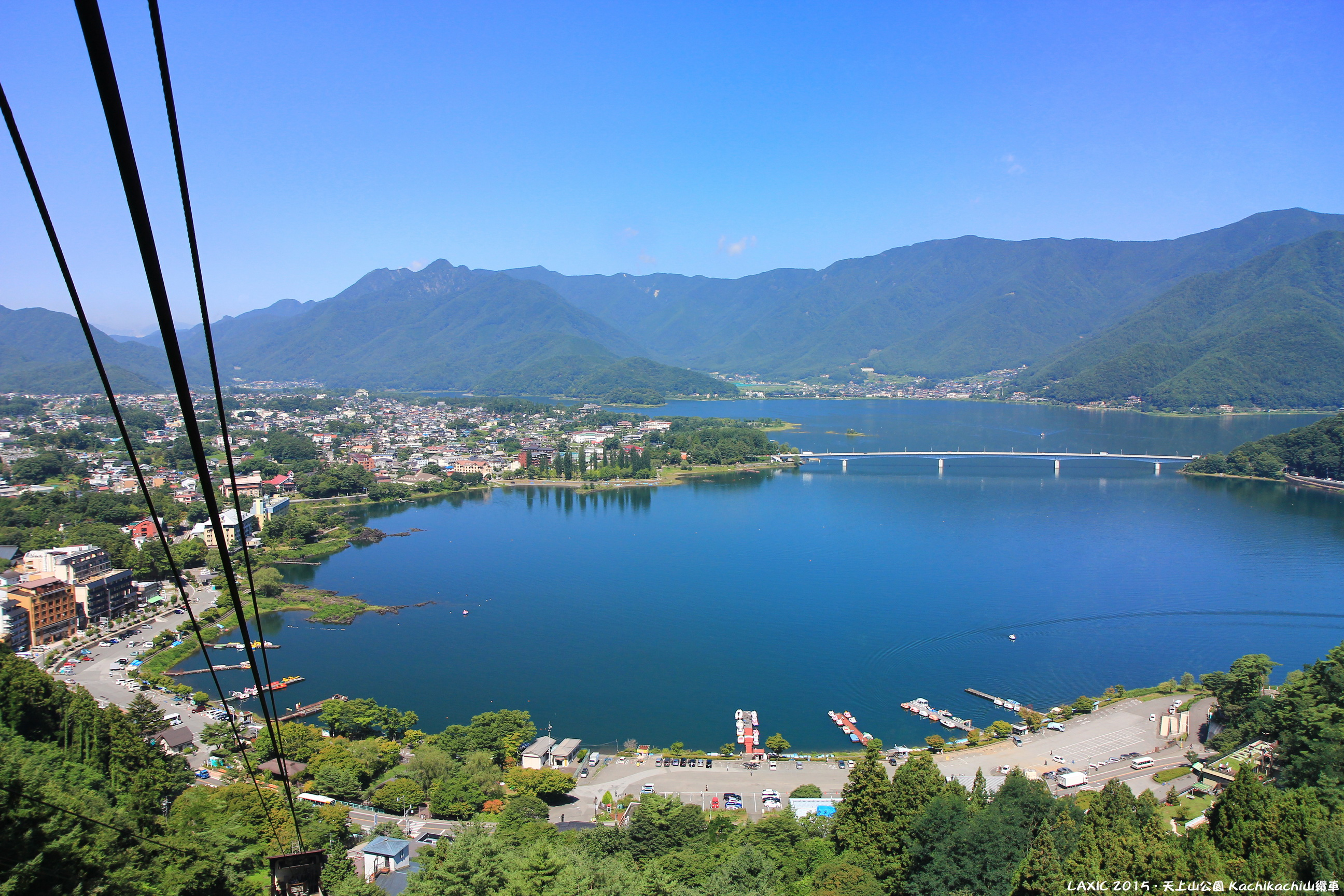 2015.08 天上山公園 Kachikachi山纜車