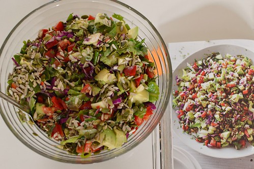 Nic's chopped salad