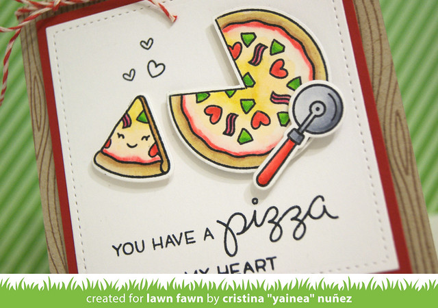 Pizza My Heart - detail