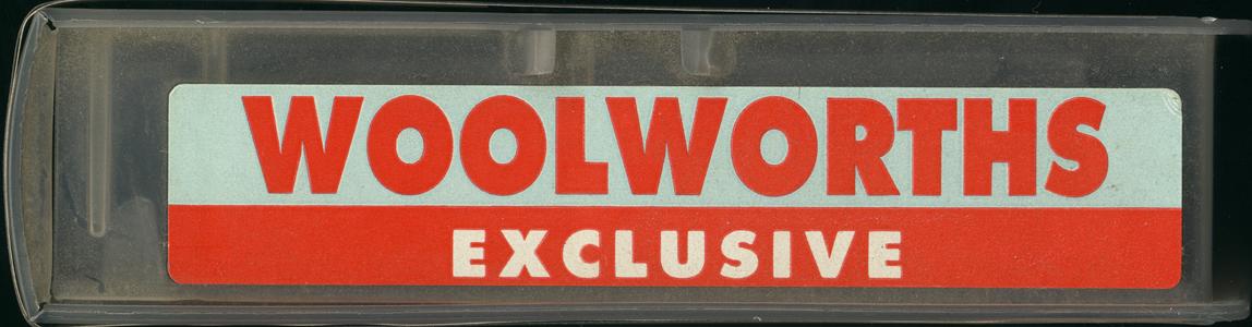 Woolworths sticker