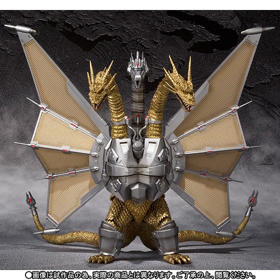 「魂ネイションズ10周年」記念特別販售【抽選販售】S.H.MonsterArts 機械帝王基多拉メカキングギドラ