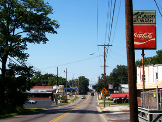 Main Street In Marion, Kentucky