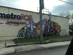 Spurs mural