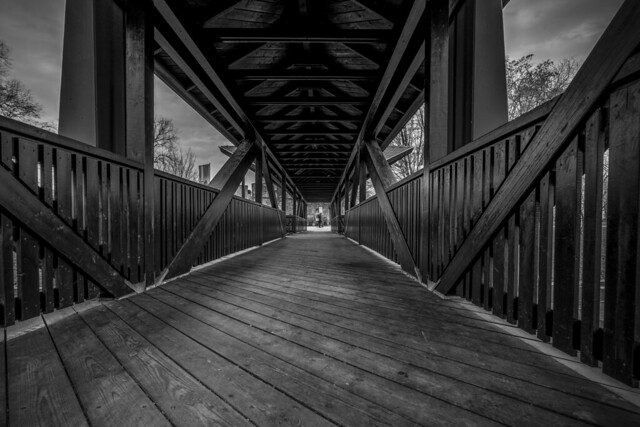 Brücke an der Burg