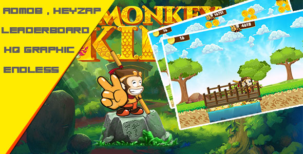 King Monkey v1.0 - Admob + Leaderboard