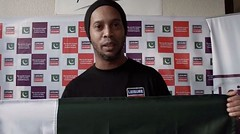 Ronaldinho confirms Pakistan visit in video message