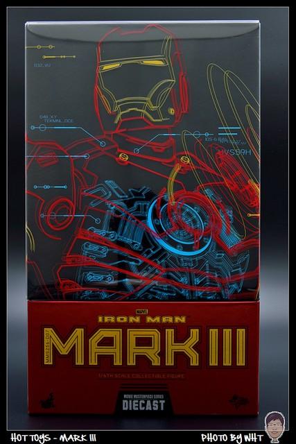 【玩具人黑色北極熊投稿】Hot Toys - MARK 3 合金版開箱分享