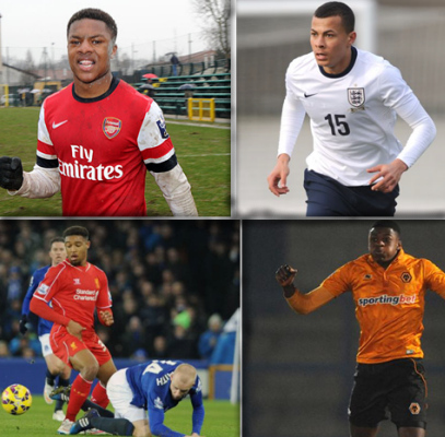 The Nigerian Quartet called up for England U21 Duty.