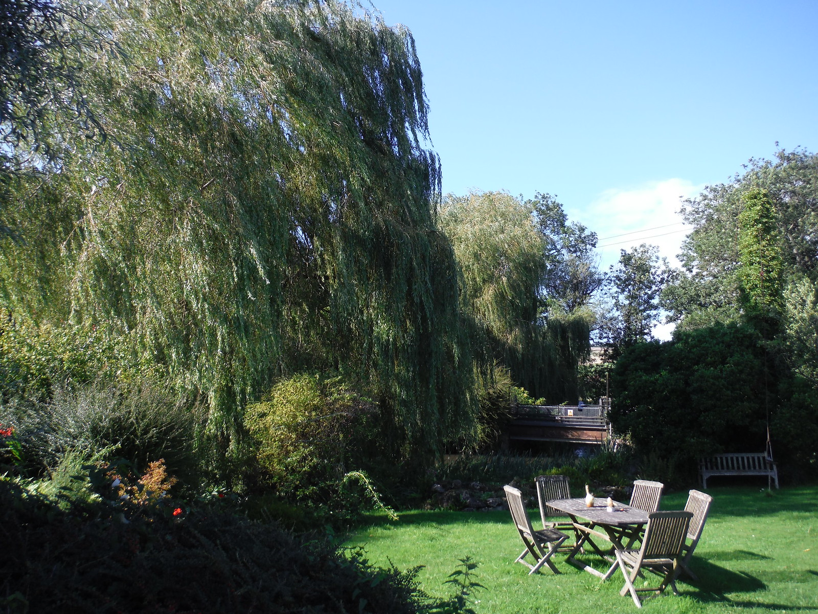 Tisbury Mill Garden SWC Walk 248 Tisbury Circular via Hindon