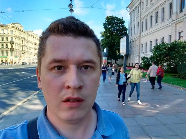 Снимок с фронтальной камеры Motorola Moto G 3rd gen