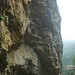 Rainy climbing by Laurel Fan